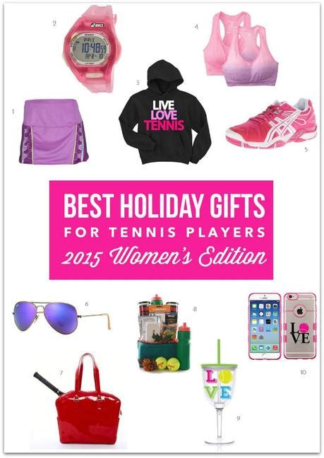 best holiday gifts for tennis players 2015 women s