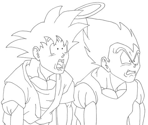 goku vs vegeta coloring pages games goku vs majin vegeta coloring pages coloring pages