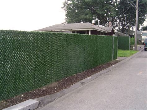 how to cover a chain link fence ebay