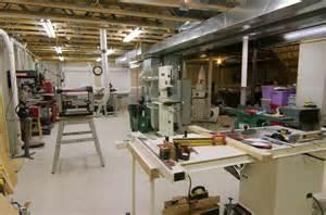 workshop designs panofish 187 basement woodshop tour