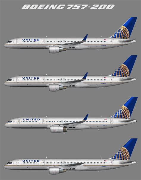 Central Park 1 Gurgaon Floor Plans by 20 Boeing 757 200 752 United United Airlines Boeing