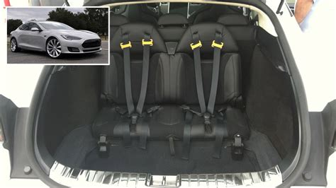 why tesla s model s has jump seats from a 60s wagon