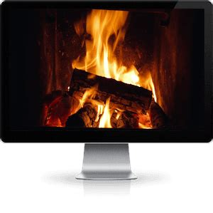 Looping Fireplace by Fireplace Downloads For Any Hd Tv Or