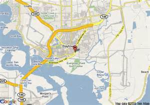 bay town map map of quality inn baytown baytown