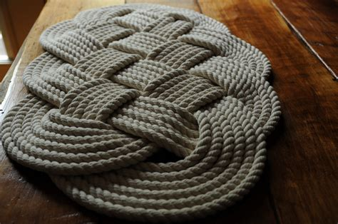 Rope Bath Mat nautical decor cotton rope bath mat 29 x 16