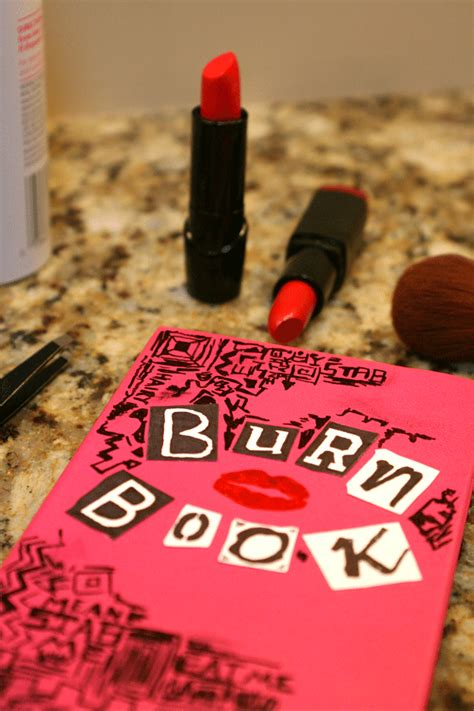 diy mean diy mean girls burn book planner free printable dawn