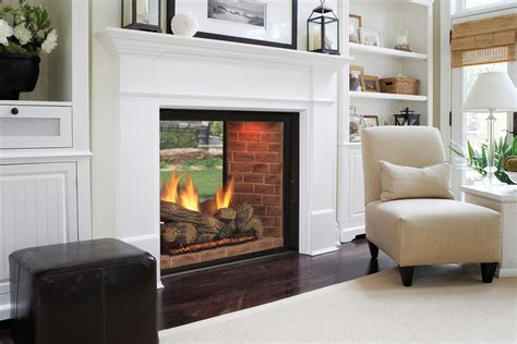 indoor outdoor see through fireplace mhc hearth fireplaces outdoor