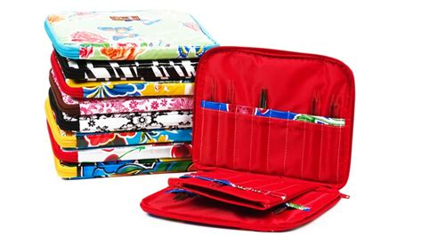 knitting needle cases interchangeable needle chic a knitting