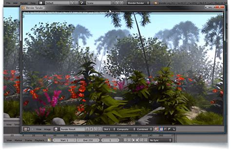 Blender 3d Landscape Tutorial | creating a realistic tropical landscape in blender