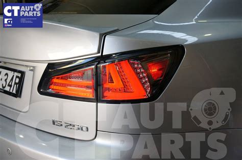Smoked Led Light Bar Smoked Led Light Bar Lights For Lexus Isf Is250 Is350 Taillight 05 08 Ebay
