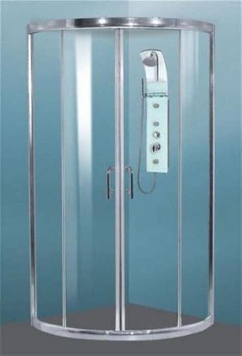 Rounded Shower Doors Shower Screen Slider Sizes 900 950 1000 6mm