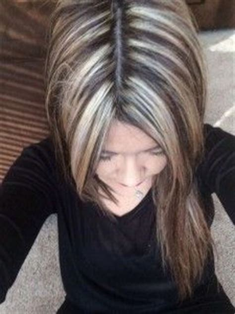 black sant and peper low lights salt n pepper hair cut for women search results