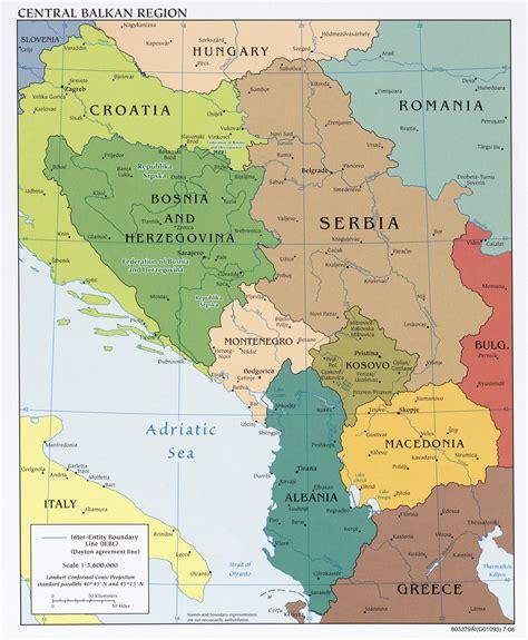 balkans map western balkans political map 2008 size