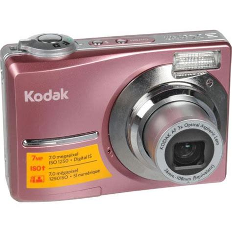 Pink Leather Digital By Kodak by Kodak Easyshare C713 Digital Pink 1590363 B H Photo