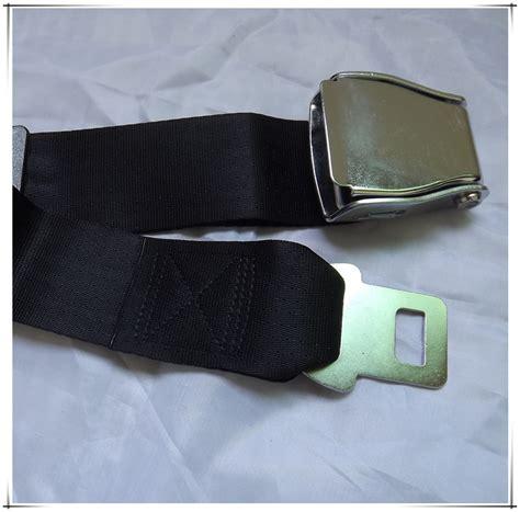 aircraft seat belt extensions 2pcs lot adjustable aircraft seat belt extender airplane
