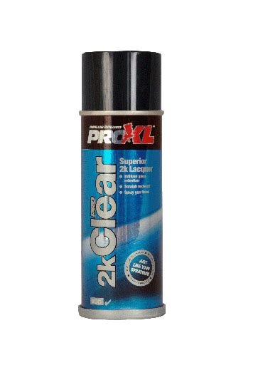 Proxl 2k Spray Clear Lacquer High Gloss Body Shop Quality