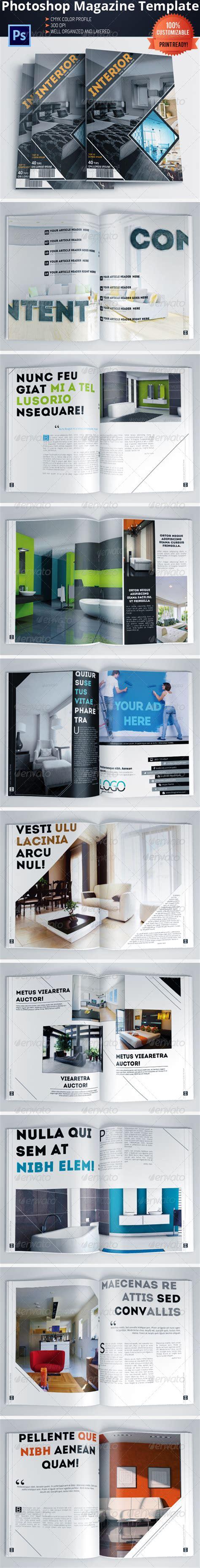 Architecture Trade Magazines Architecture And Interior Design Magazine Brochure