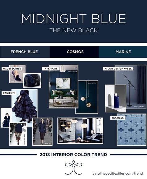 interior color interior color trends 2018 indigo blue midnight blue