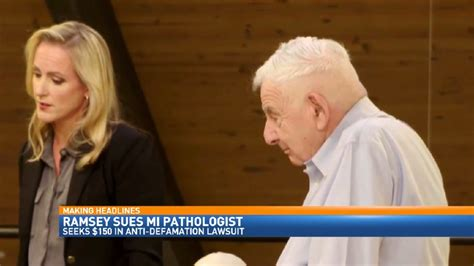 Files Lawsuit by Burke Ramsey Files Lawsuit Against Michigan Pathologist Wwmt
