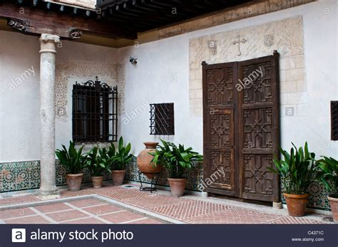 we buy houses toledo interior courtyard of el greco house and museum toledo spain stock photo royalty