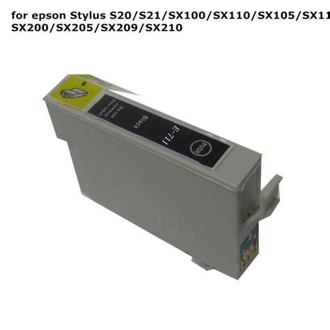 resetter for epson sx100 sx105 10pcs t0711 71 black compatible ink cartridge for epson