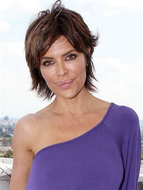 lisa rinna hair and round face 75 best hair images on pinterest haircut parts hairdos