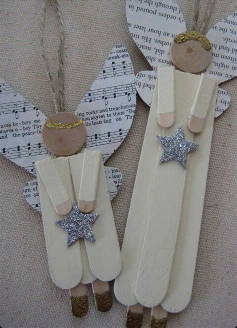 angelitos con periodoco angeles navidad 171 manualidades