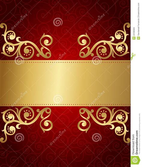 retro invitation background stock vector image