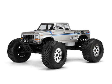 hpi 1979 ford f 150 supercab truck clear hobby