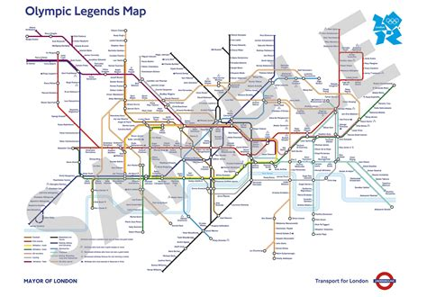 underground station map stops re named for olympic fih
