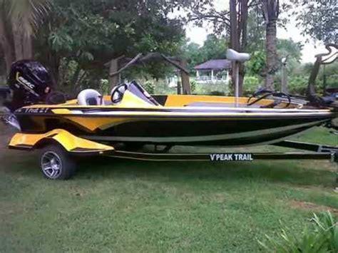 present v peak z7 bass boat youtube