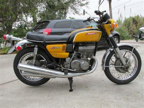 1972 Suzuki Gt550 1972 Suzuki Gt550 J Model 99 Original Great Running