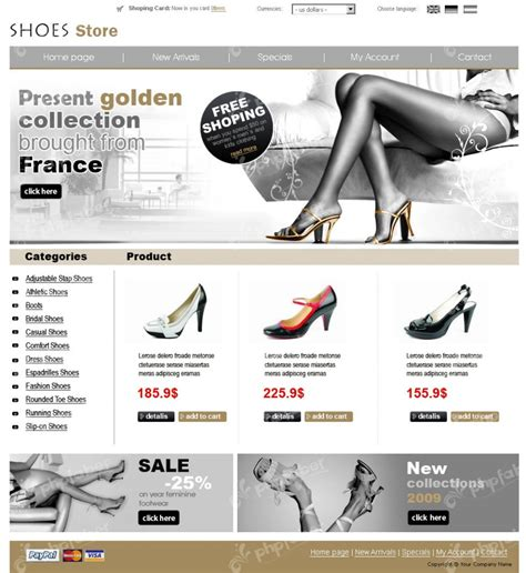 ecommerce website templates for blogger top 10 ecommerce website templates for e stores