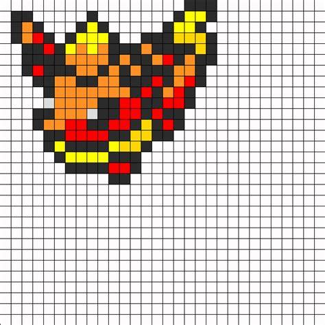 flareon perler bead pattern bead sprites characters