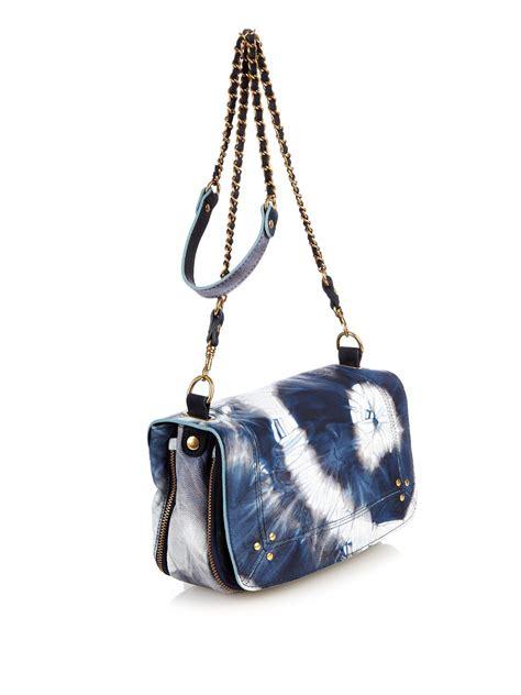 Kooba Devin Tie Handbag by J 233 R 244 Me Dreyfuss Bobi Tie Dye Leather Shoulder Bag In Blue