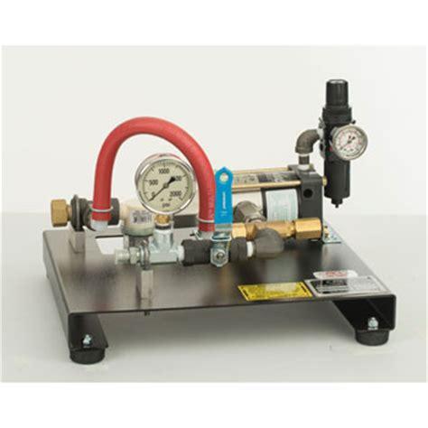 Rex Plumbing Supply by Wheeler Rex 32150 Pneumatic Powered Hydrostatic Test