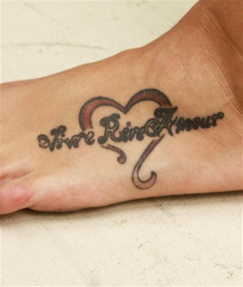 inscription tattoo designs styled inscription in foot