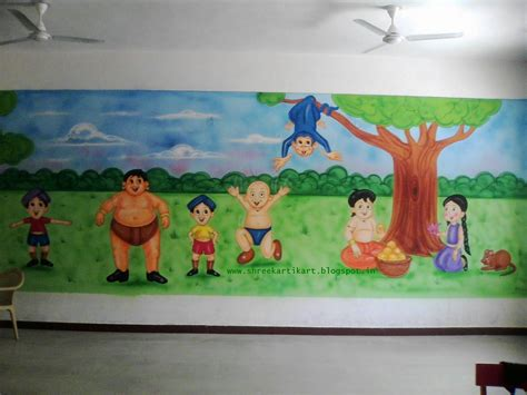 decoration painting wall decoration ideas for play school coulby home design