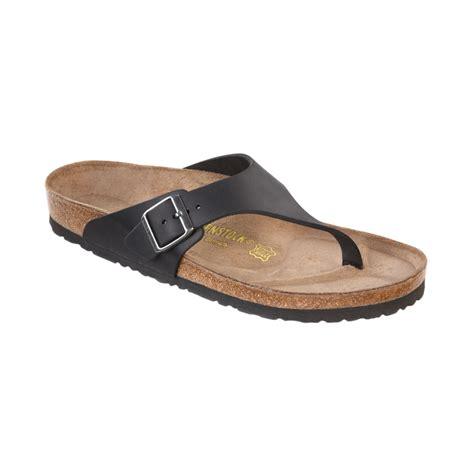 birkenstock mens como side buckle sandals in black