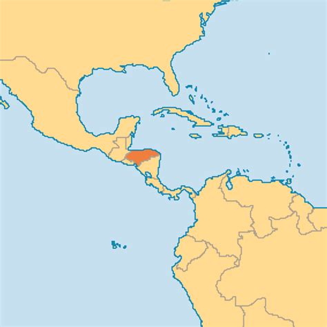 honduras world map honduras operation world
