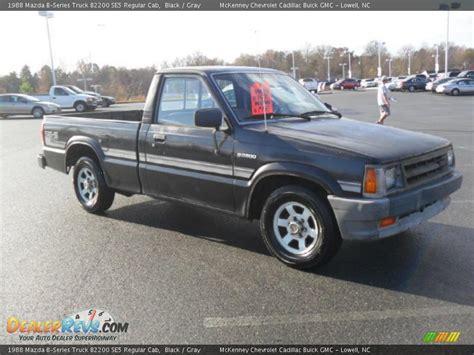 1988 mazda b2200 1988 mazda b series truck b2200 se5 regular cab black