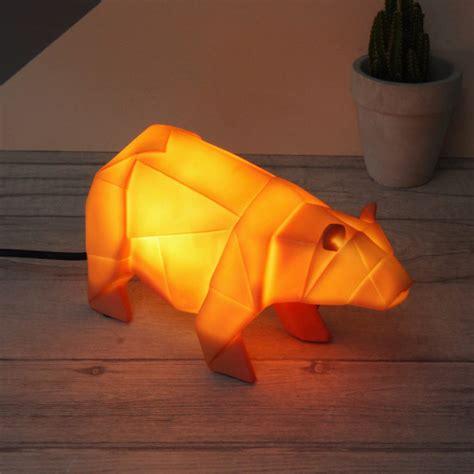 jungle animal night light origami safari animal night light by lisa angel