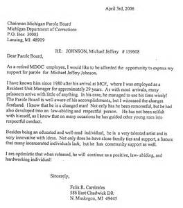 letters of support michael johnson story of michigan