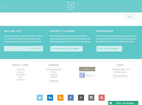 information websites 15 tips for creating a great website footer top digital agency san francisco