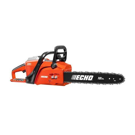 echo chain saws 16 in 58 volt lithium ion brushless
