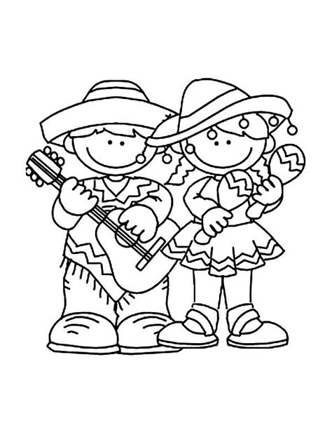 Free Celebrate Coloring Pages Cinco De Mayo Coloring Pages