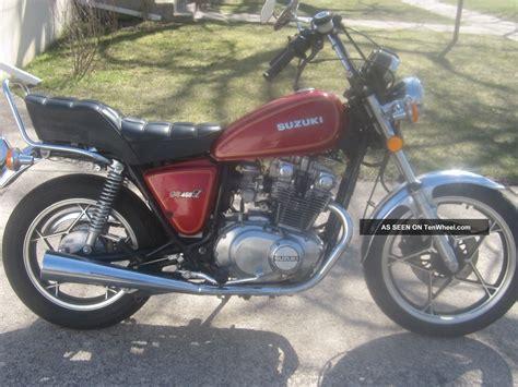 Suzuki Gs450l by 1980 Suzuki Gs450l Barn Find