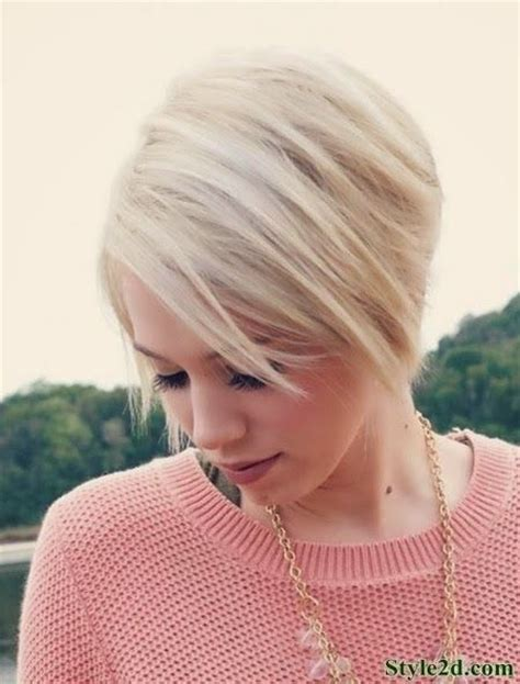hair styles bob lo lites 16 cute hairstyles for short hair blonde bob haircut