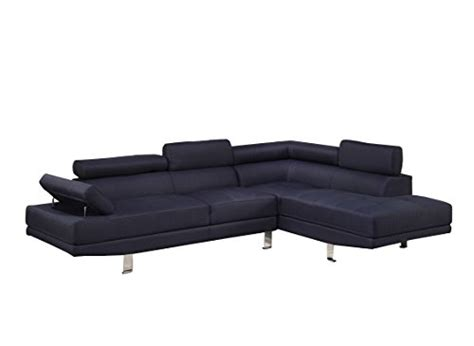 how to keep sectional pieces together poundex bobkona vegas blended linen 2 piece sectional sofa