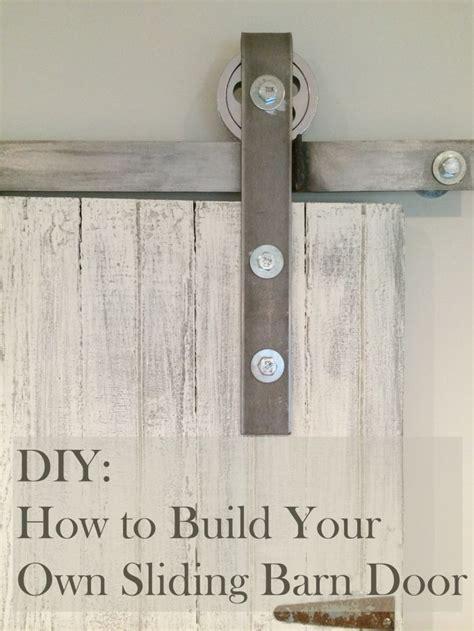 how to make a rolling barn door 25 best ideas about sliding door mechanism on